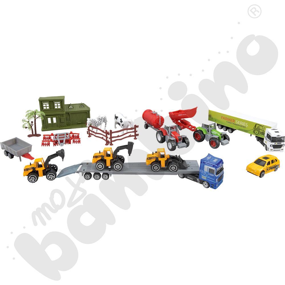 Zestaw z pojazdami Farma
