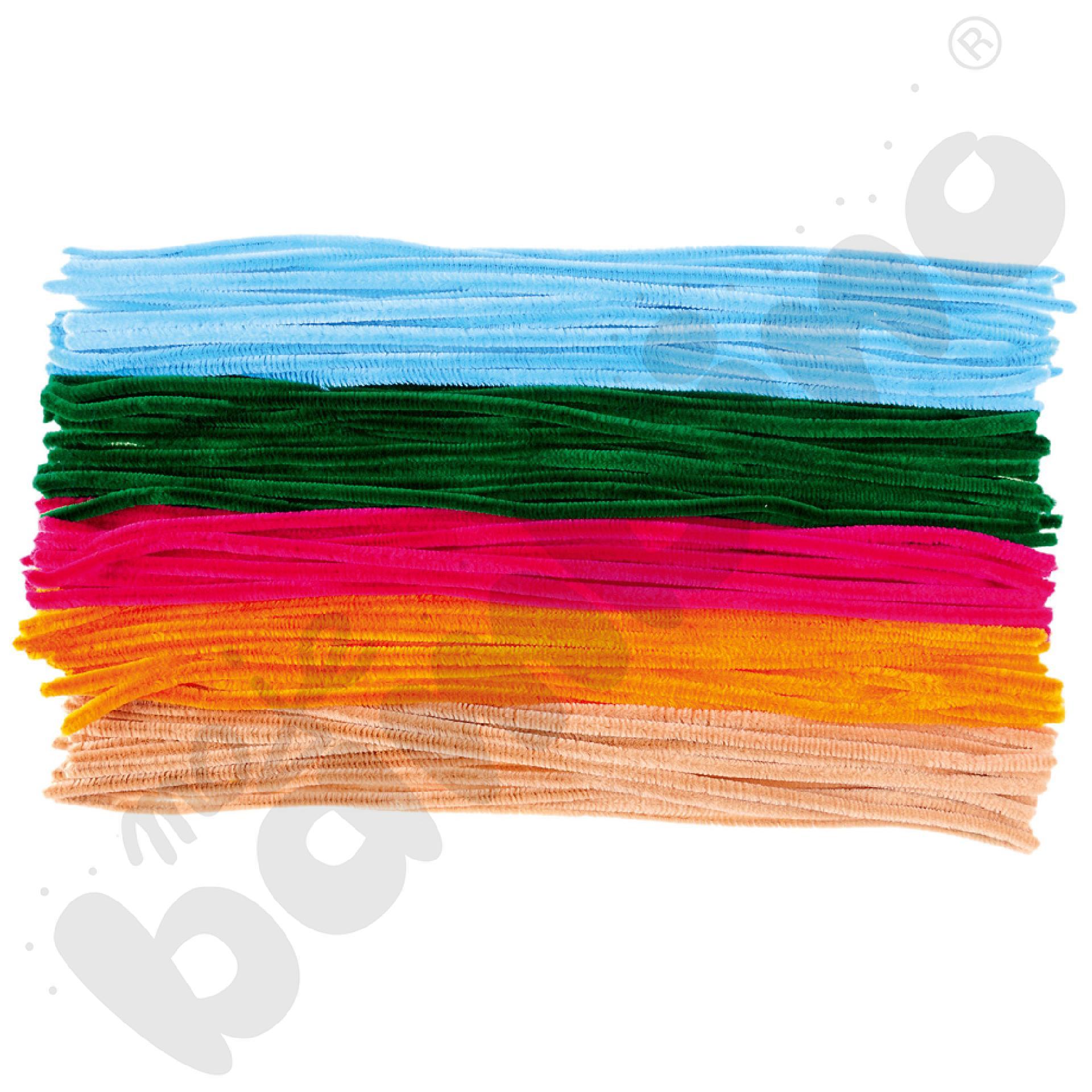 Średnie druciki kreatywne długie
