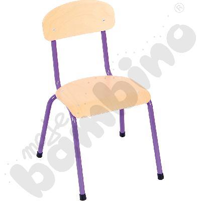 Krzesło Bambino rozm. 2 fioletowe