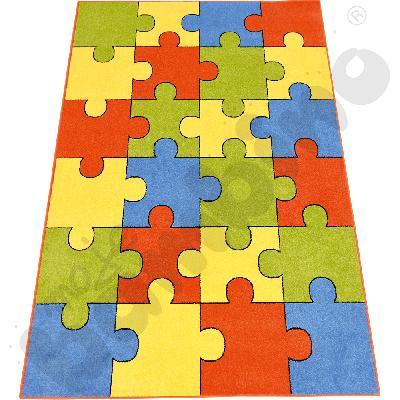 Dywan Puzzle terakota 3 x 4