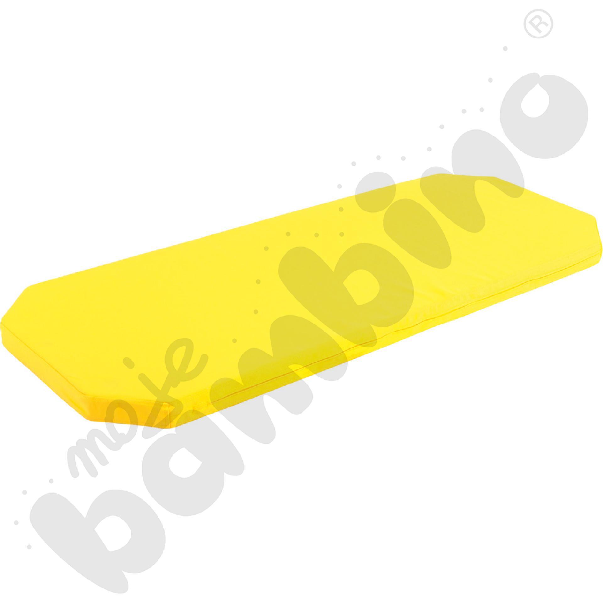 Materac do łóżeczka 501002 żółty