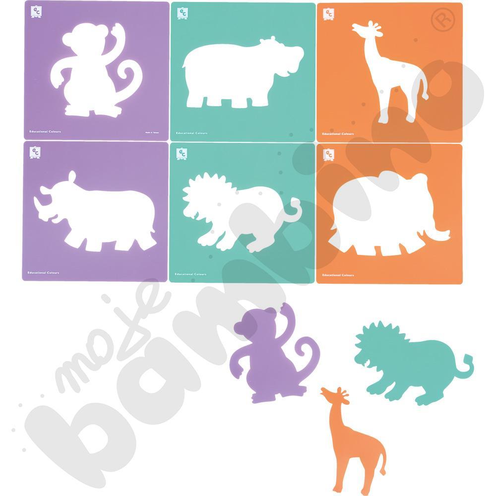 Szablony - dzikie zwierzęta