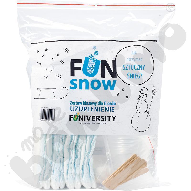 Fun snow - zestaw uzupełniający