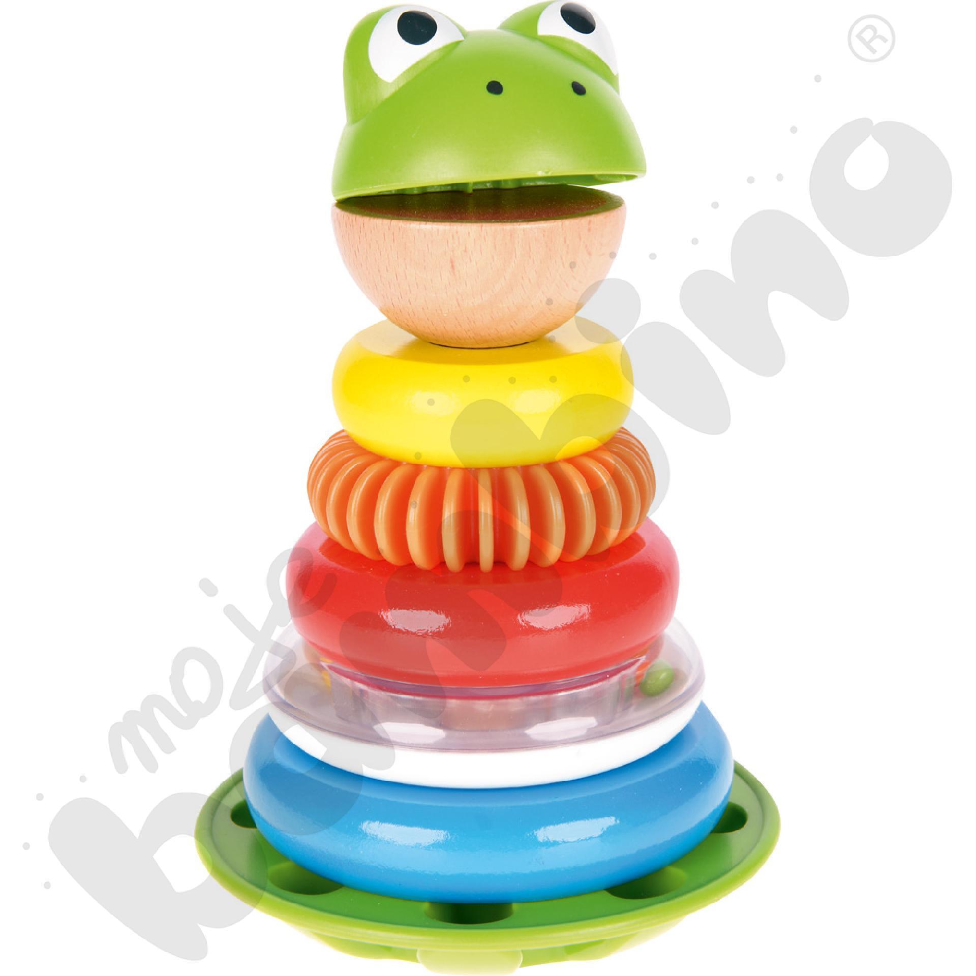Nakładanka żabka-rechotka