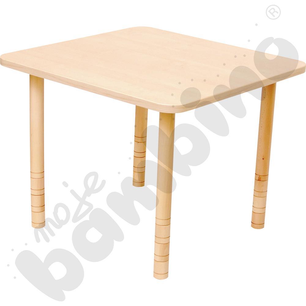 Stół kwadratowy brzoza