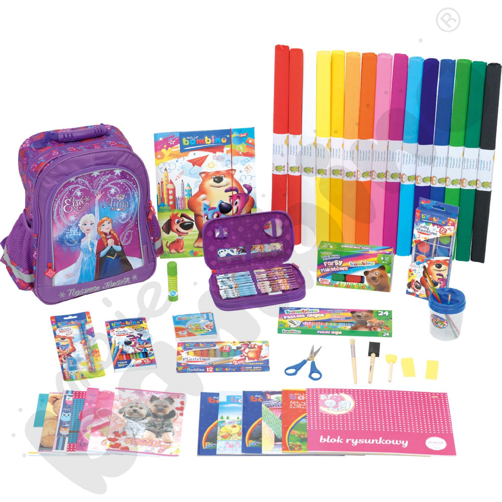 Wyprawka szkolna Dobry Start 1 - dla dziewczynki
