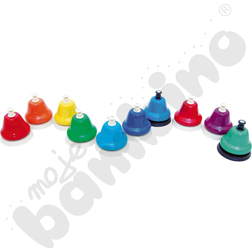 10 dzwoneczków z przyciskiem