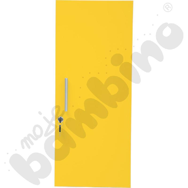 Drzwiczki M do szatni 100138 i 100139 - żółte