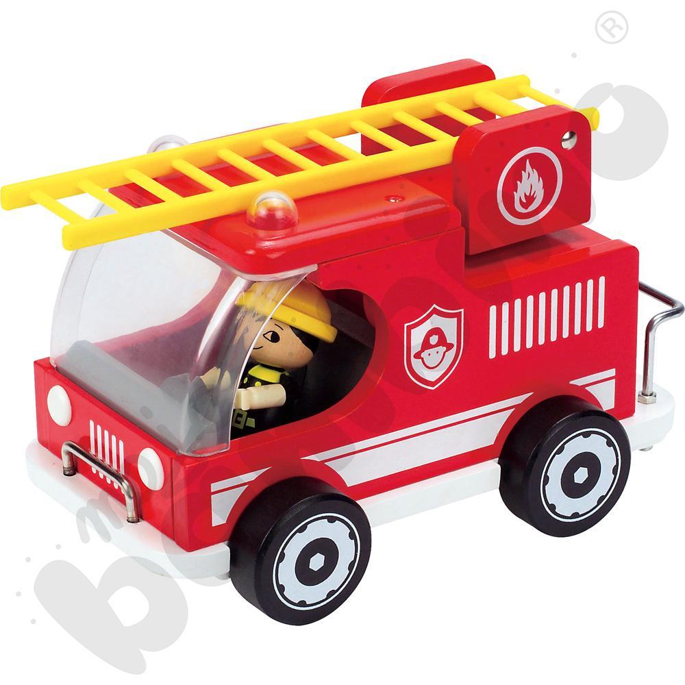 Wóz strażacki z figurką