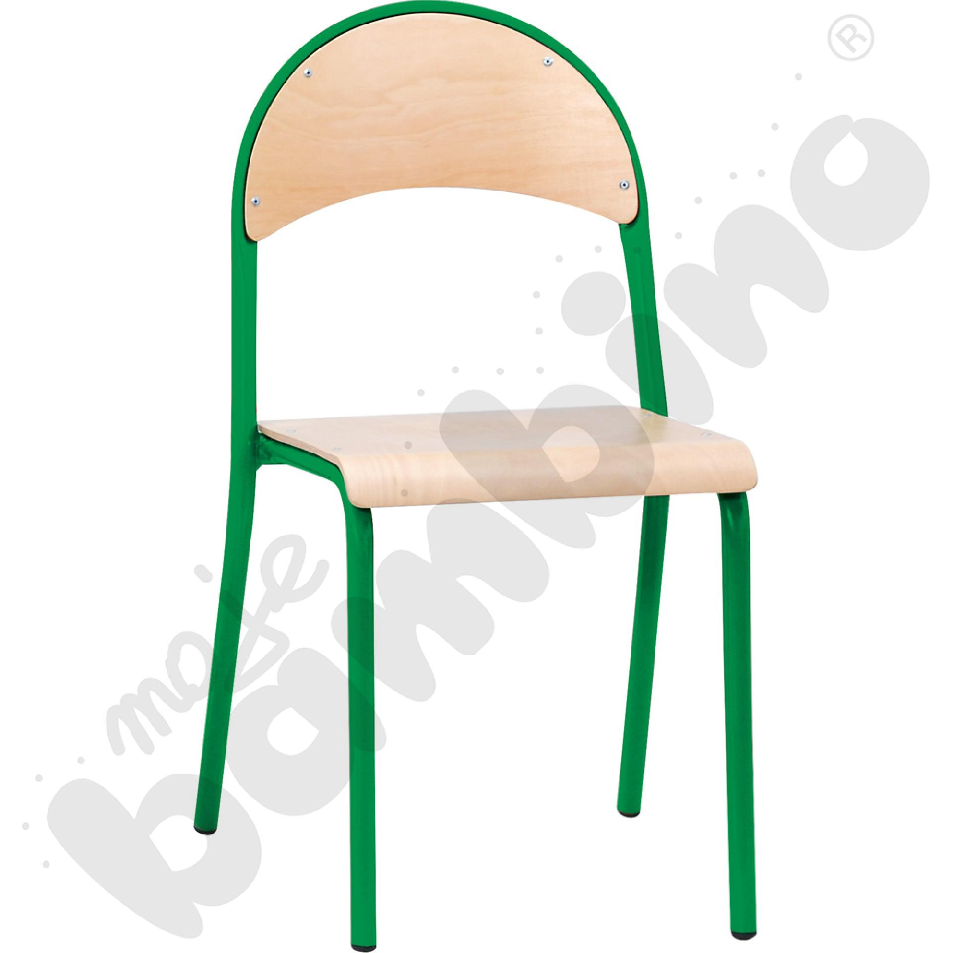 Krzesło P rozm.  6 zielone