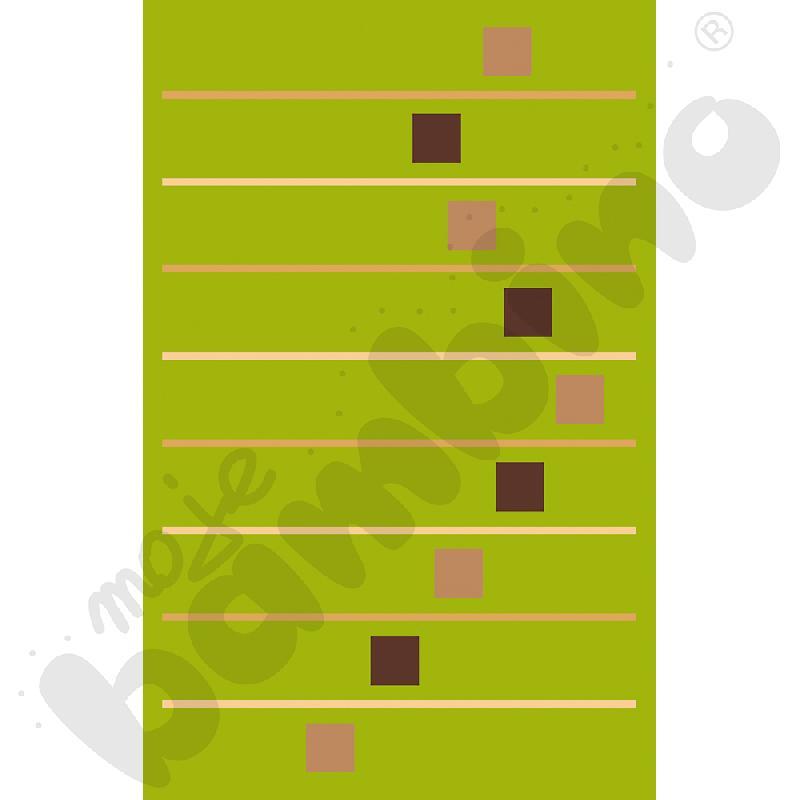 Dywan Baka zielony 1,4 x 2 m