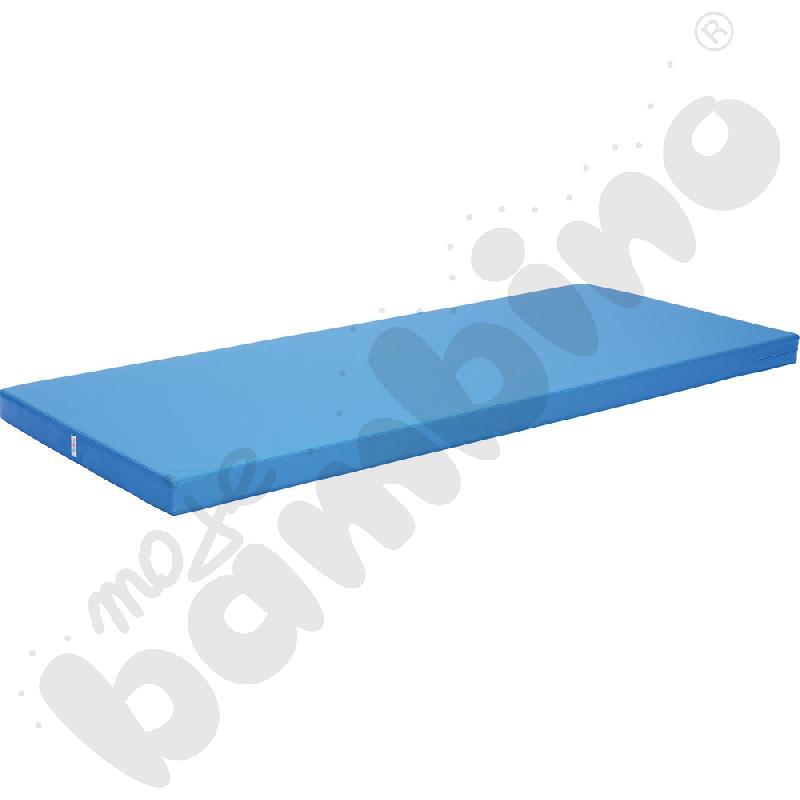 Materac lekki wym. 200 x 85 cm niebieski