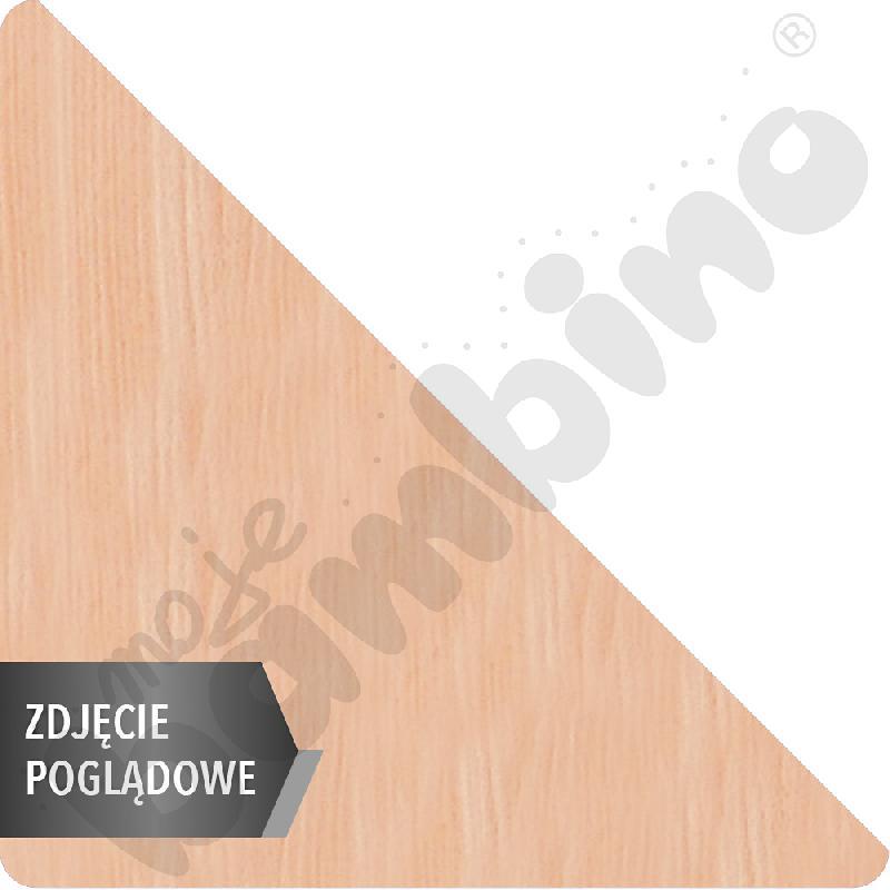 Stół Mila trójkątny, 90 x 90 x 122 cm, rozm. 1 - buk