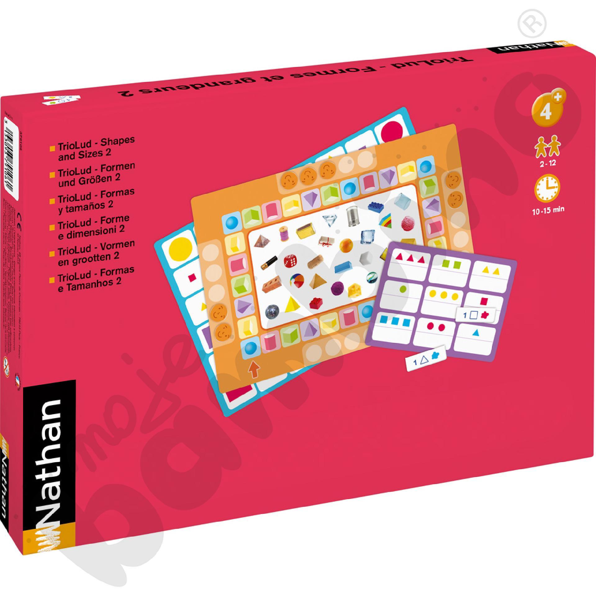 Zestaw gier TrioLud - kształty i rozmiary 2