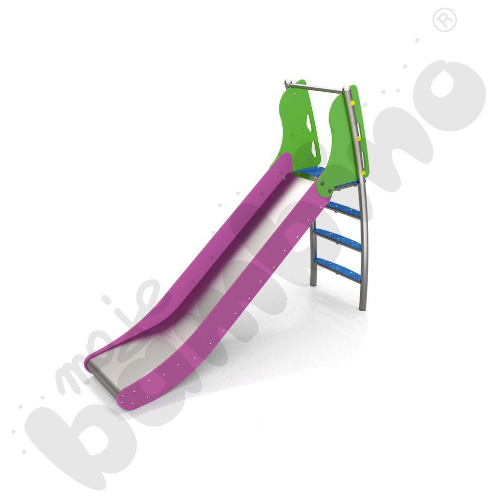 Zjeżdżalnia ze schodami...