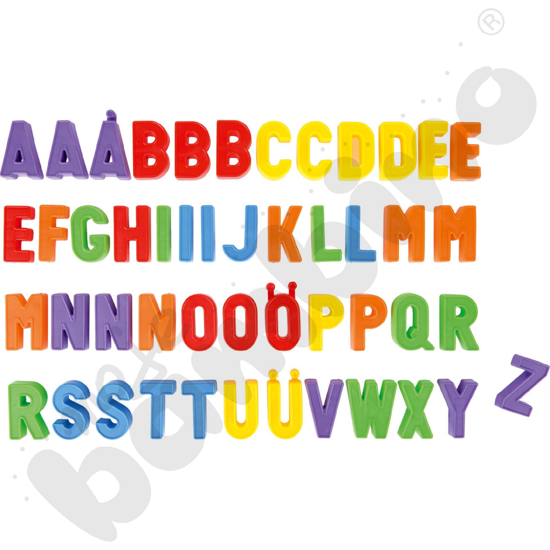 Wielkie litery magnetyczne