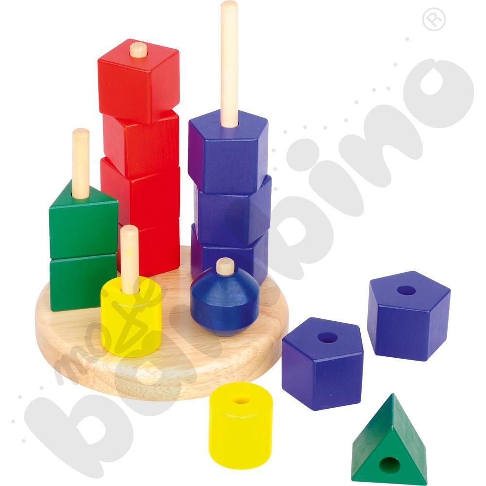 Geometryczne wieże