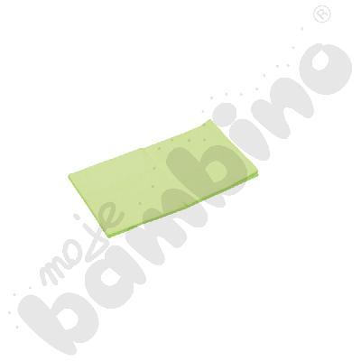 Prześcieradło z gumką (na materac) zielone wym. 120 x 60 cm
