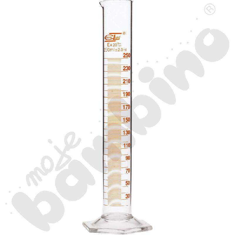 Cylinder miarowy szklany...