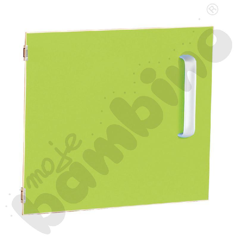 Drzwiczki do szafki M z przegrodą lewe - zielone