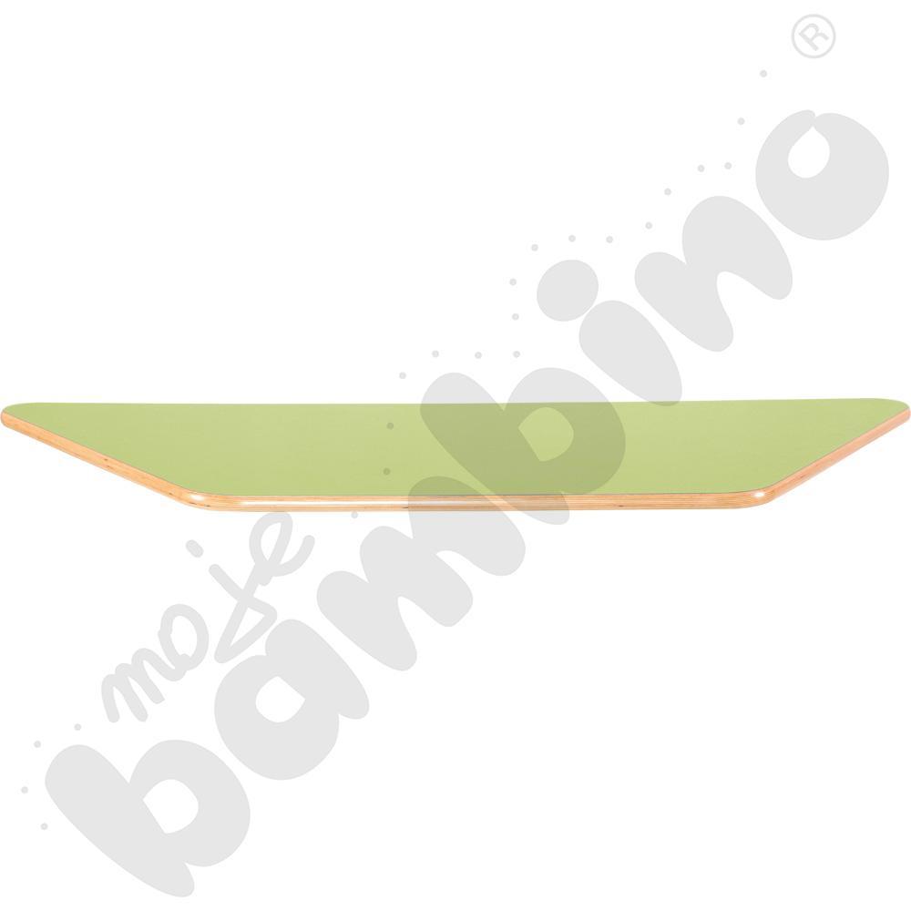 Blat Flexi trapezowy - zielony