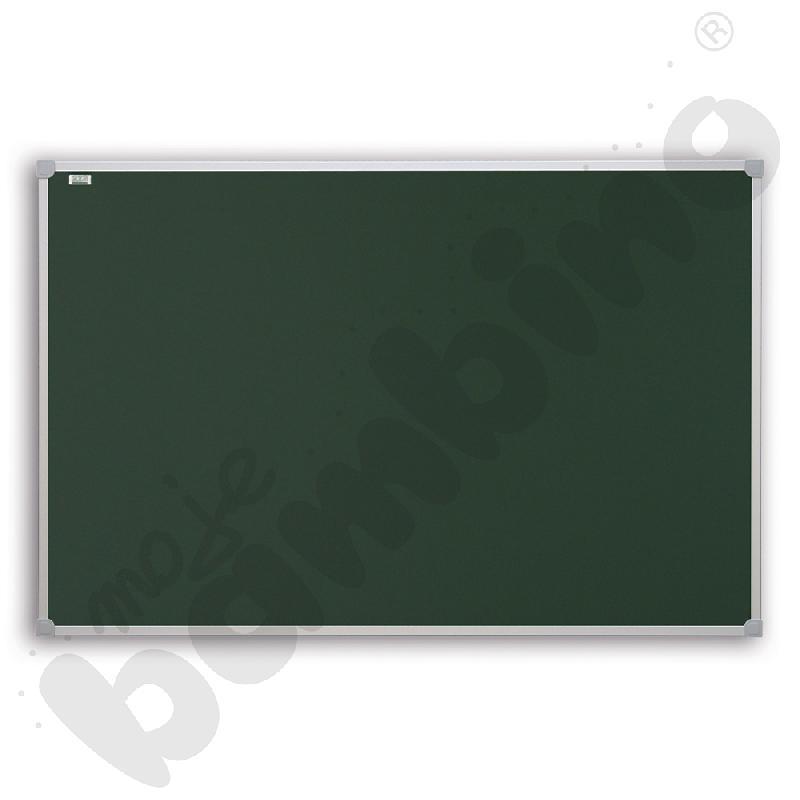 Tablica szkolna pojedyncza zielona lakierowana