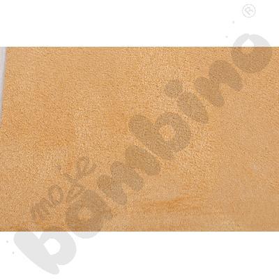 Welurowe pasy ozdobne - jasnobrązowy