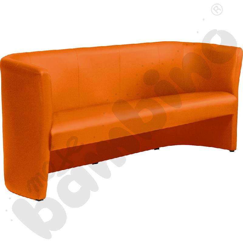 Sofa Club trio pomarańczowa
