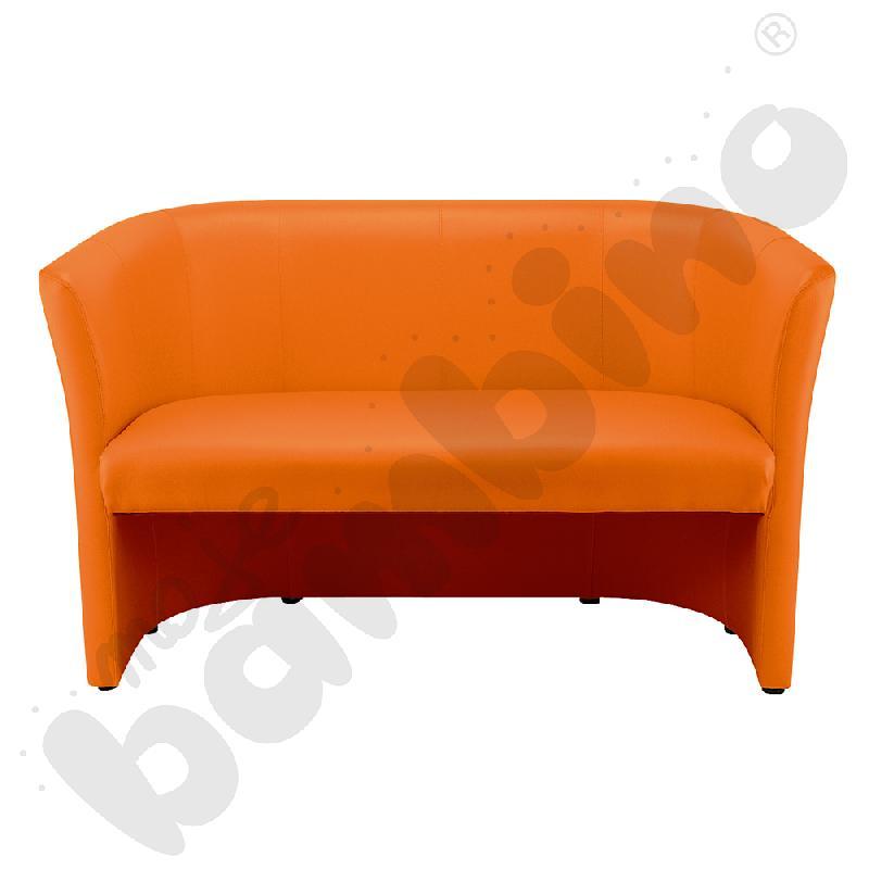 Sofa Club duo pomarańczowa