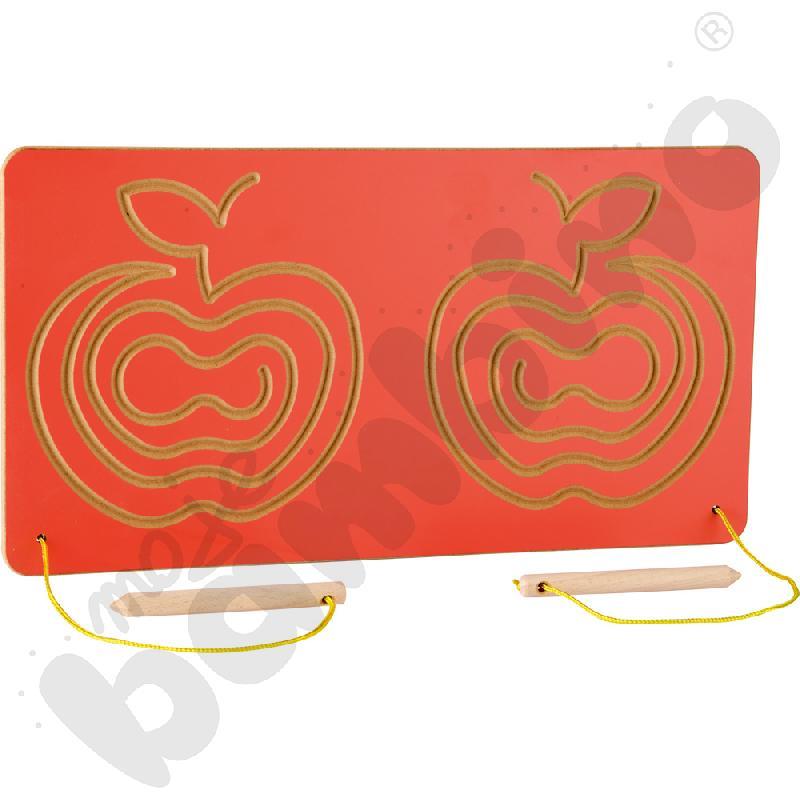 Tabliczka do ćwiczeń oburącz Jabłka