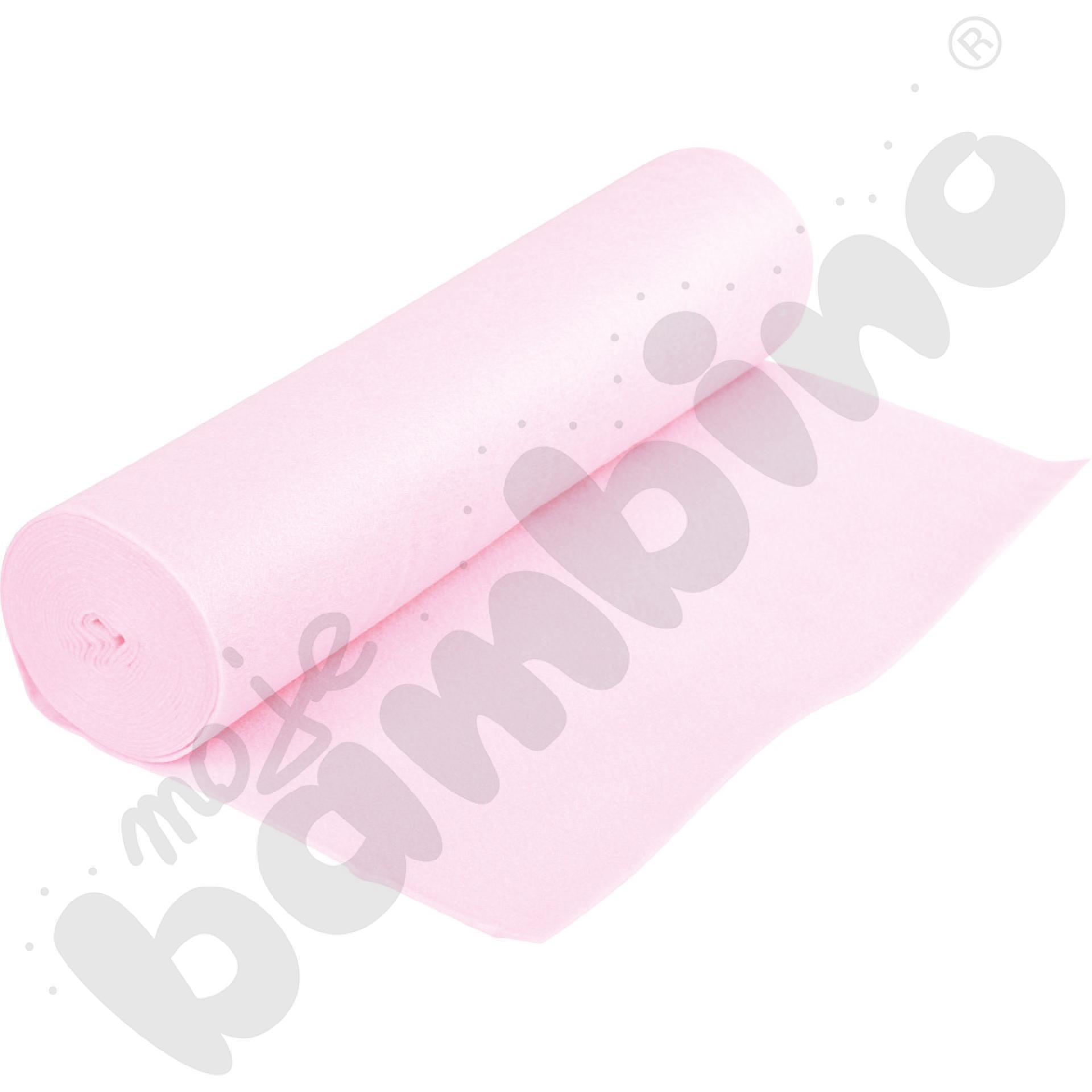 Rolka filcu różowa