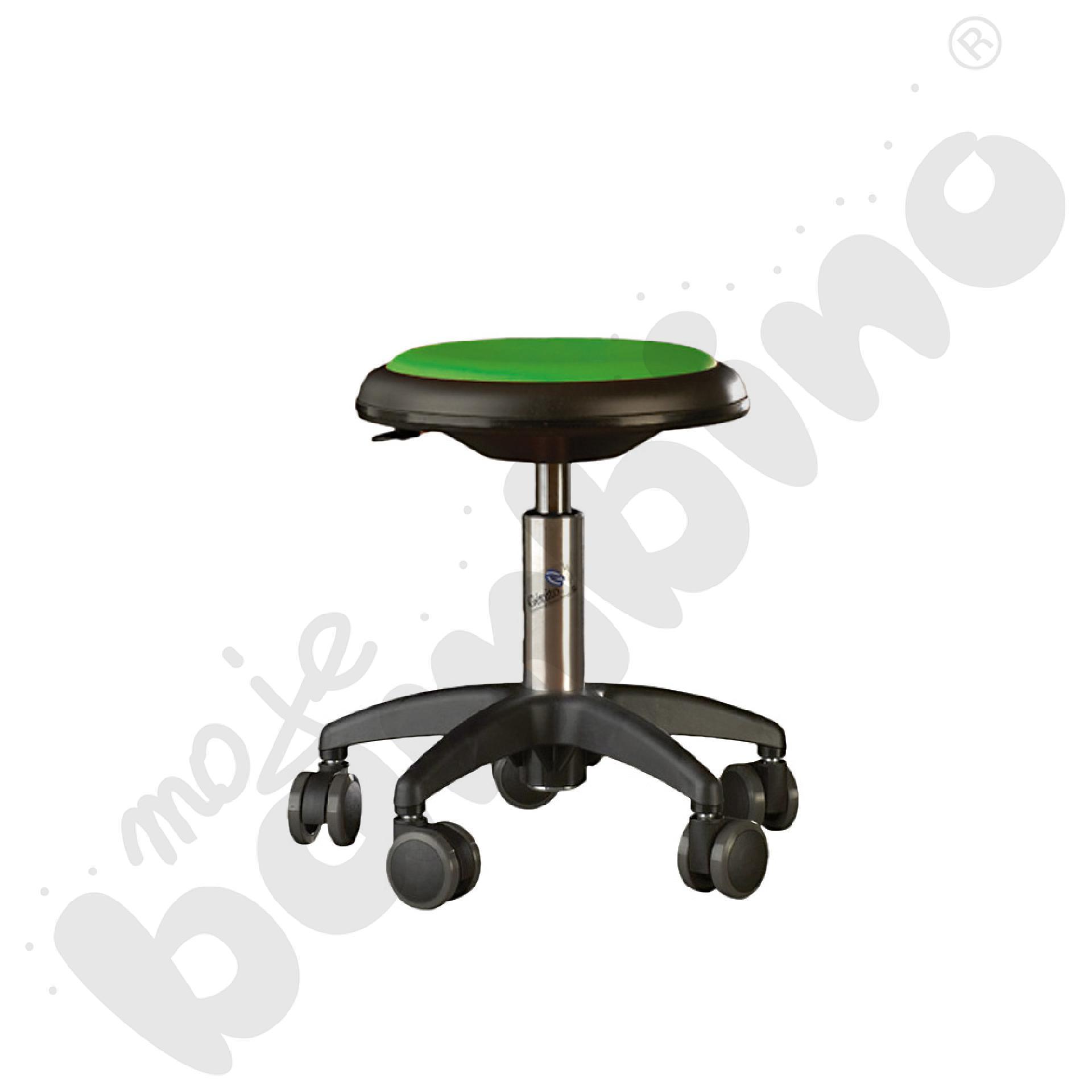 Krzesło Genito, wys. 30-38 cm - limonkowe