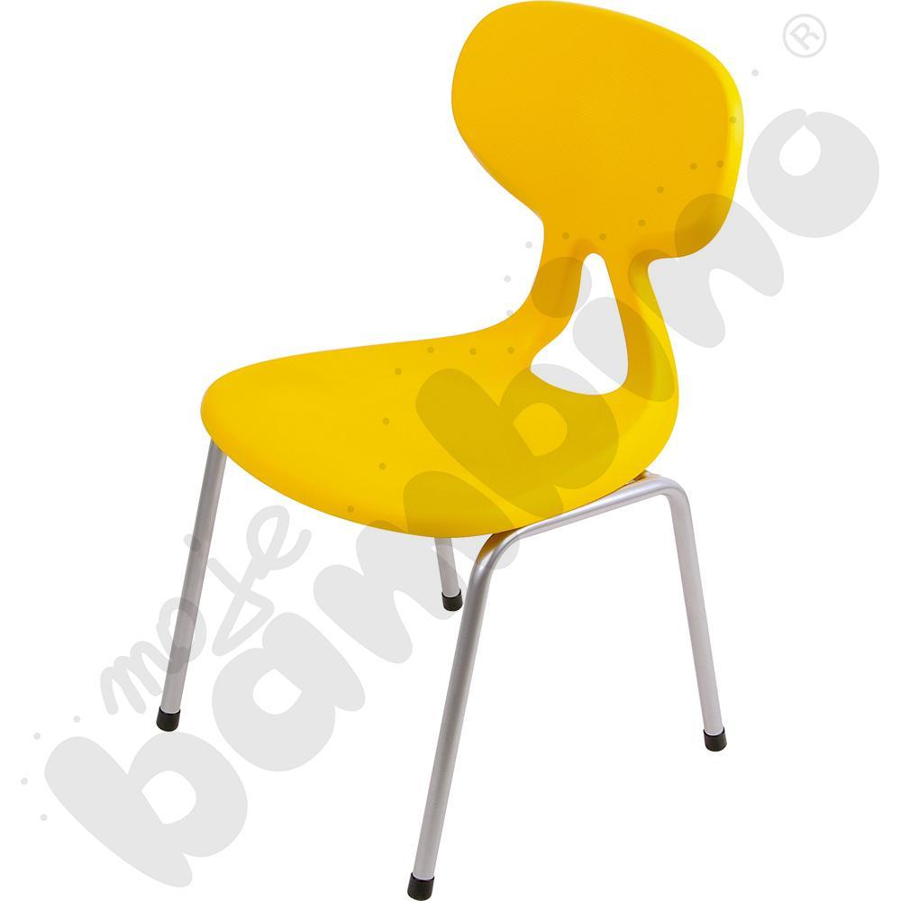 Krzesło Colores rozm. 4 żółte