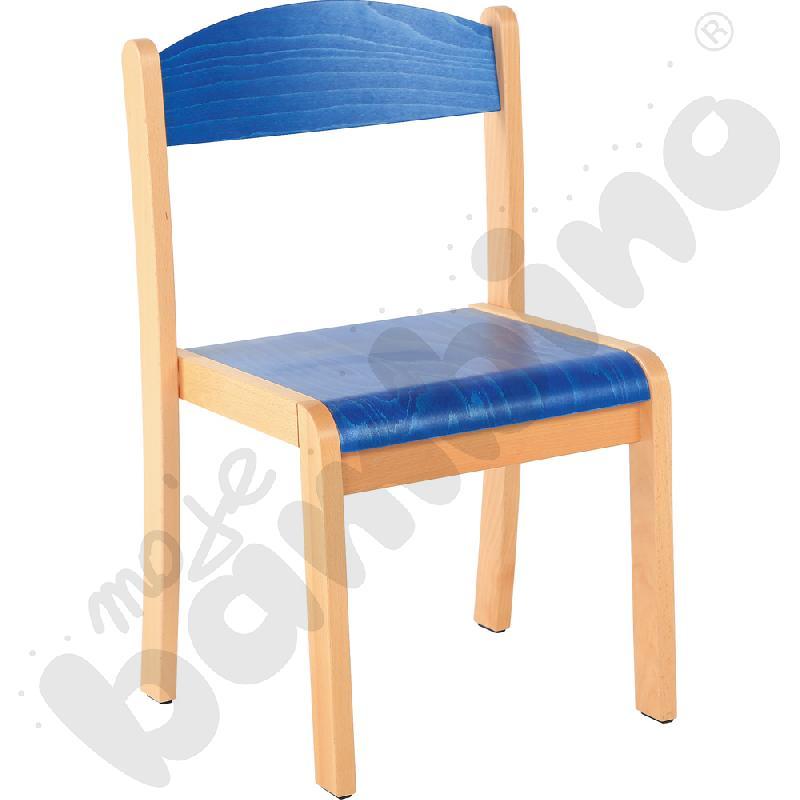 Krzesło Filipek rozm. 2 niebieskie