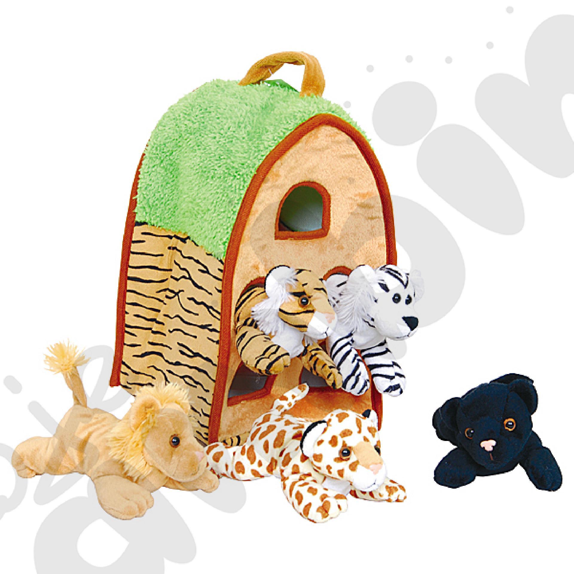 Domek dla zwierząt – safari