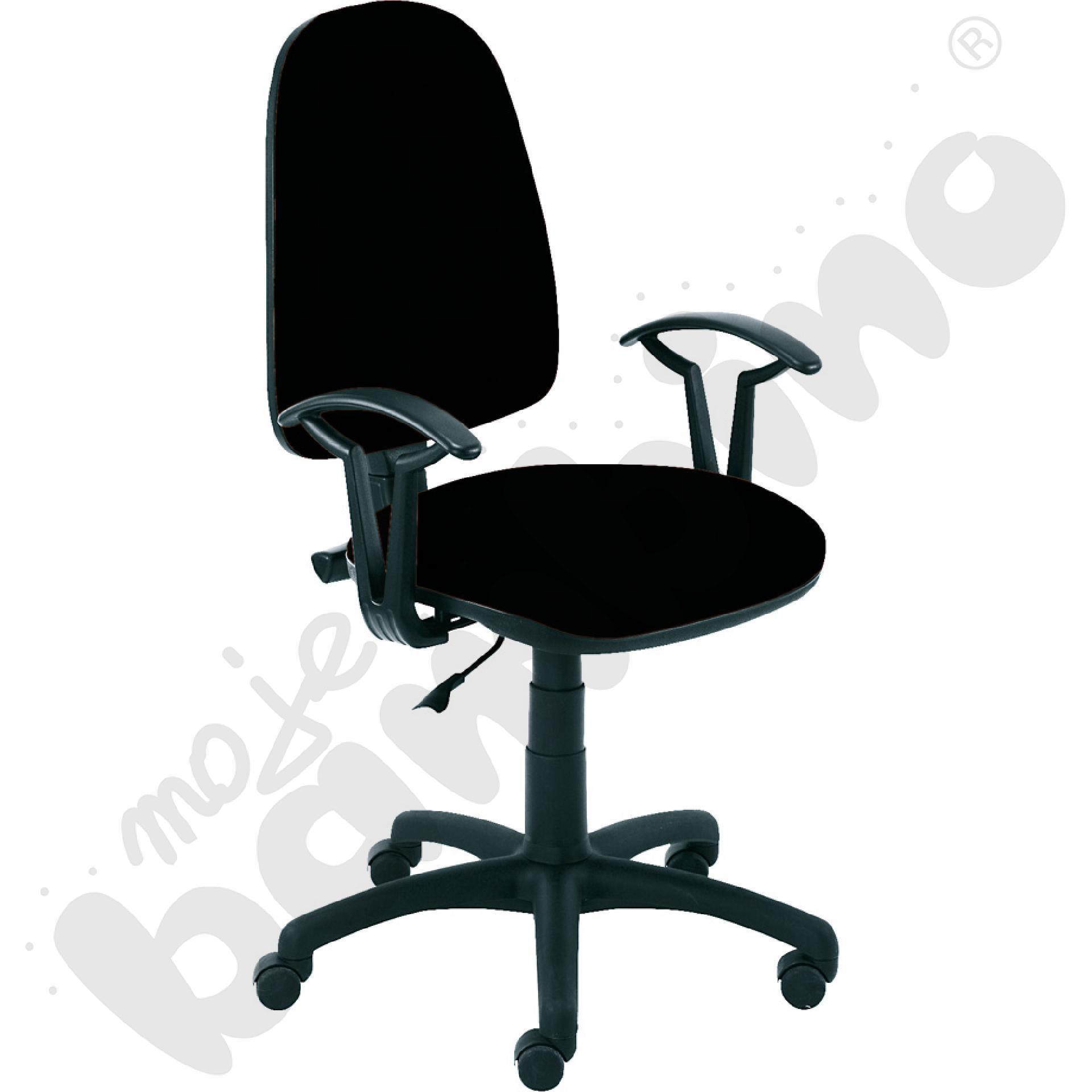 Krzesło obrotowe AKORD czarne