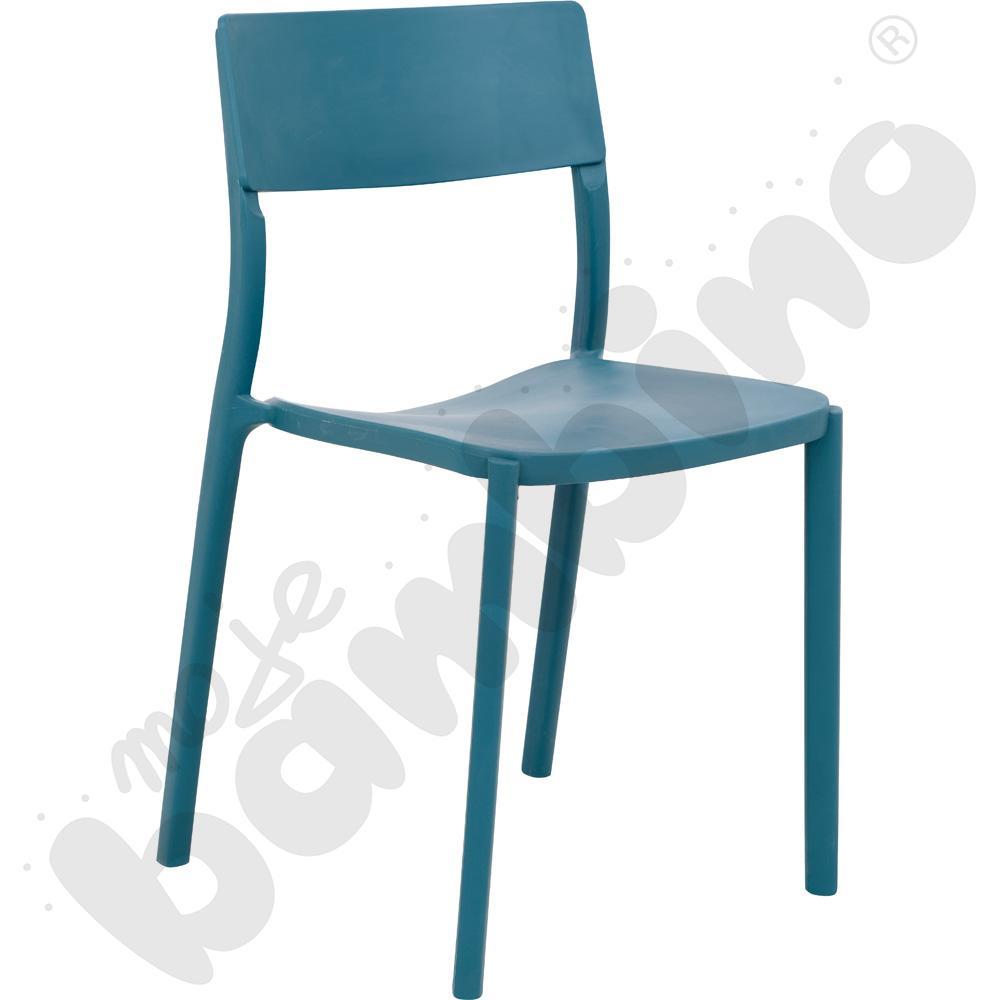 Krzesło Cyryl turkusowe