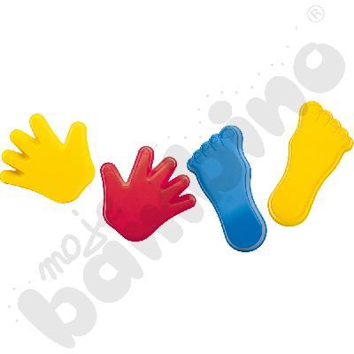Foremki - stopy i dłonie