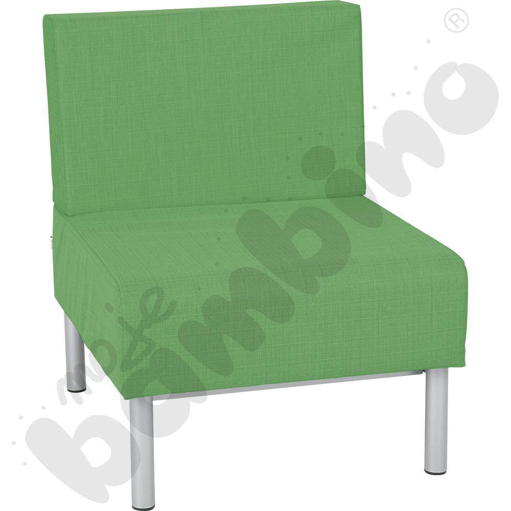 Fotel Inflamea 1, 1 os. - zielony
