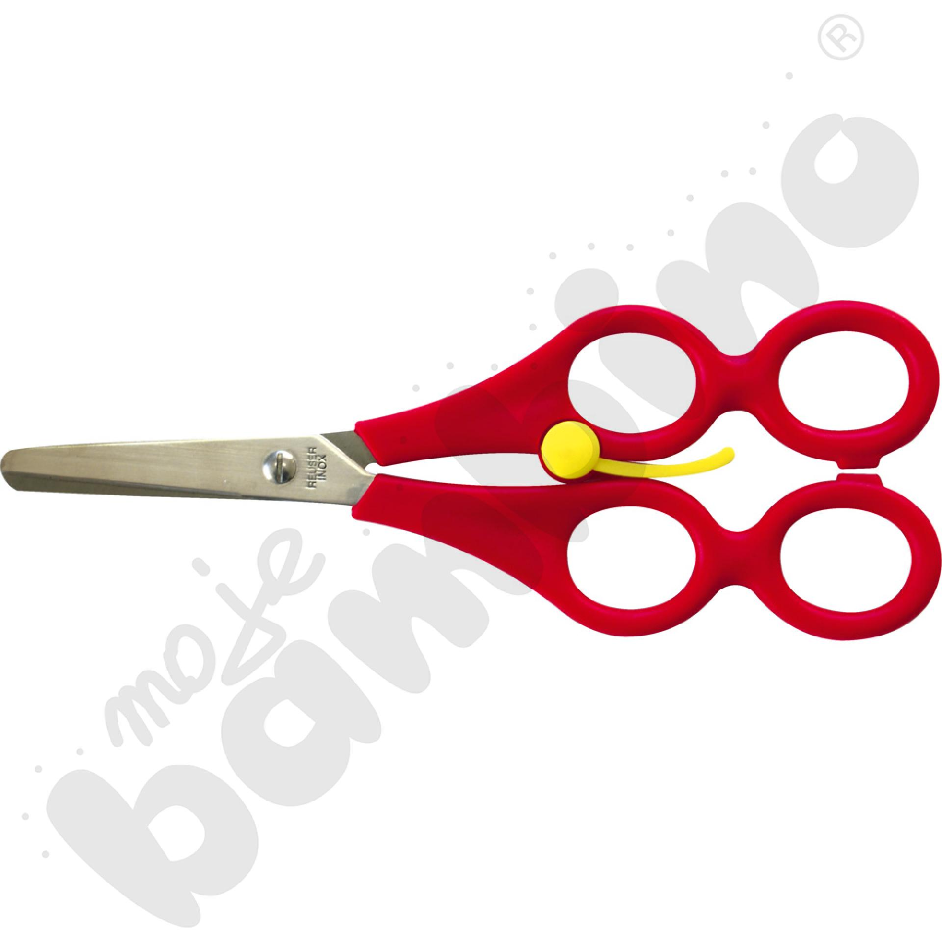 Nożyczki podwójne dla leworęcznych