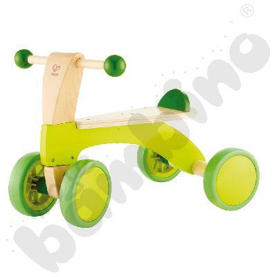 Drewniany jeździk czterokołowy