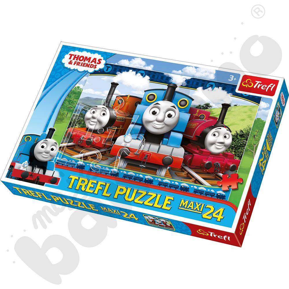Puzzle Tomek i przyjaciele, 24 elementy