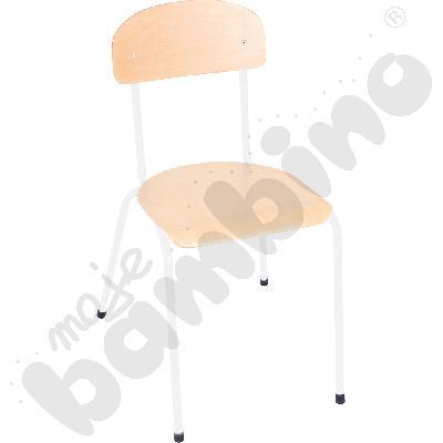 Krzesło Bambino rozm. 6 białe
