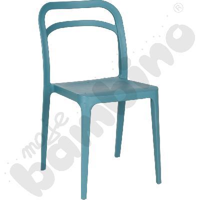 Krzesło Leon turkusowe