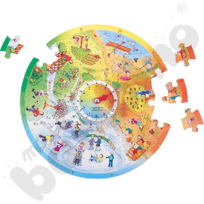Puzzle - 4 pory roku