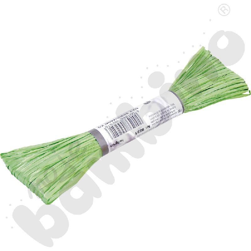 Rafia sztuczna zielona
