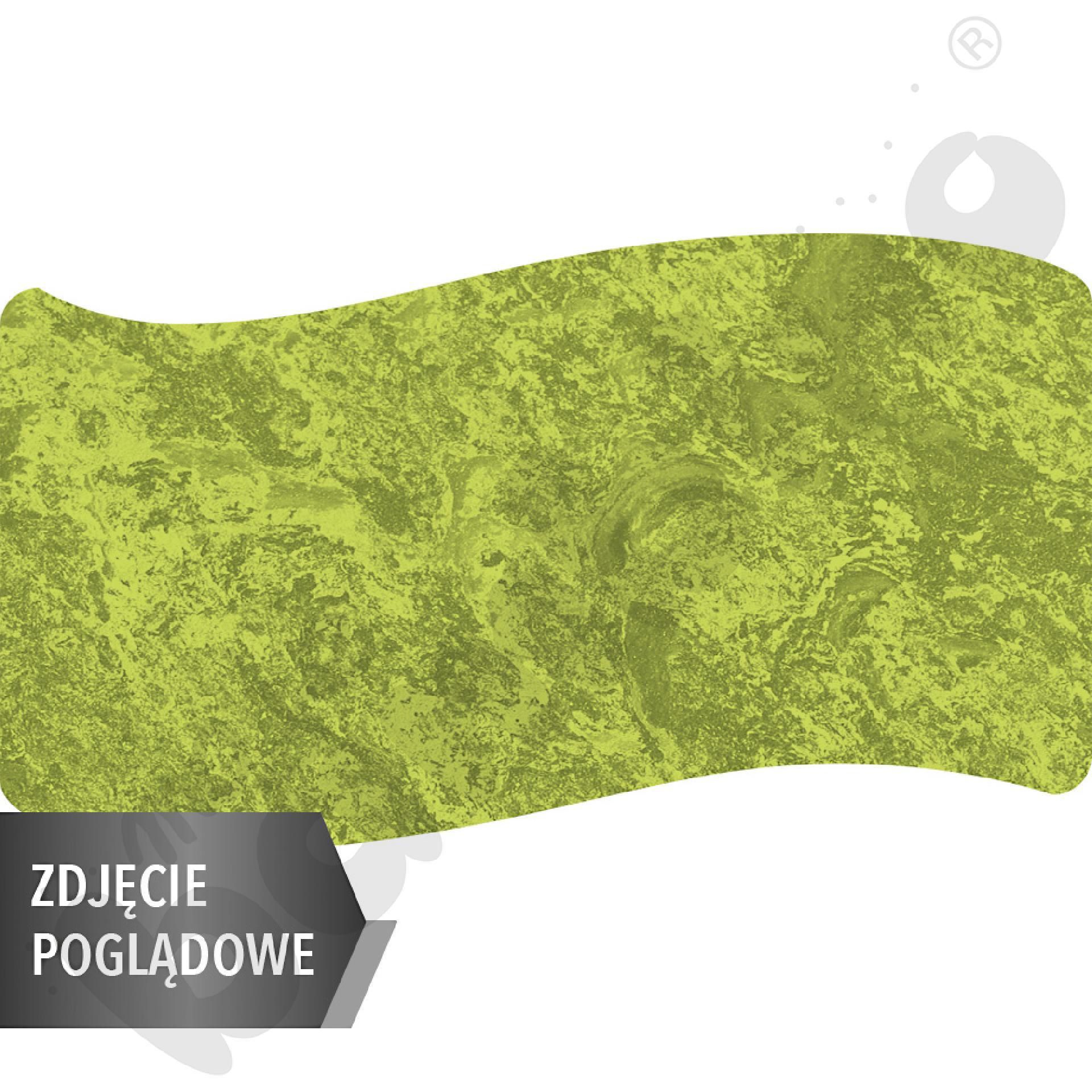 Cichy stół Plus falisty duży, 140 x 72 cm, zaokrąglone narożniki, rozm. 2 - zielony
