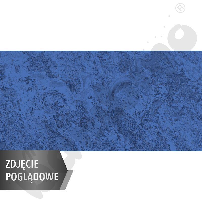 Cichy stół prostokątny, 140 x 70 cm, zaokrąglone narożniki, rozm. 6 - niebieski