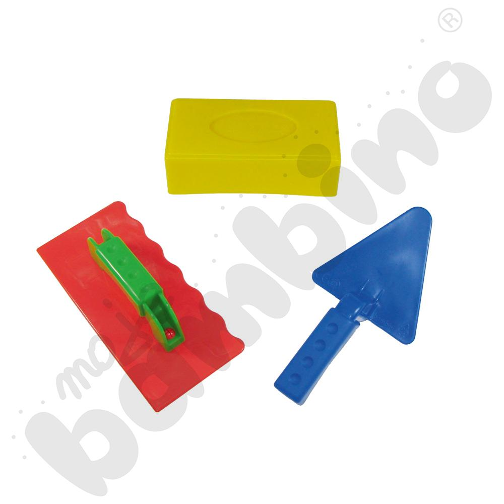 Zestaw murarski do zabaw z piaskiem