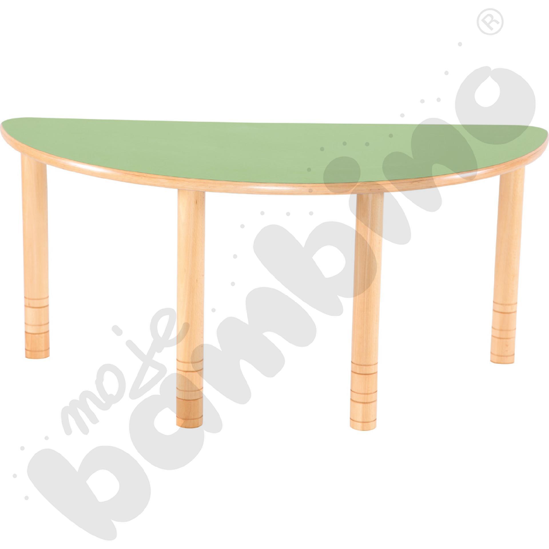 Stół Flexi półokrągły -...